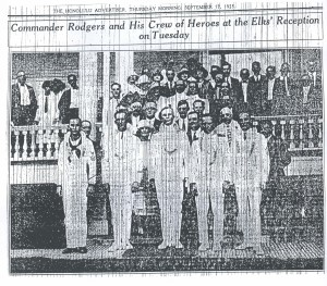 Commander John Rodgers and His Crew of Heroes, 9-17-1925